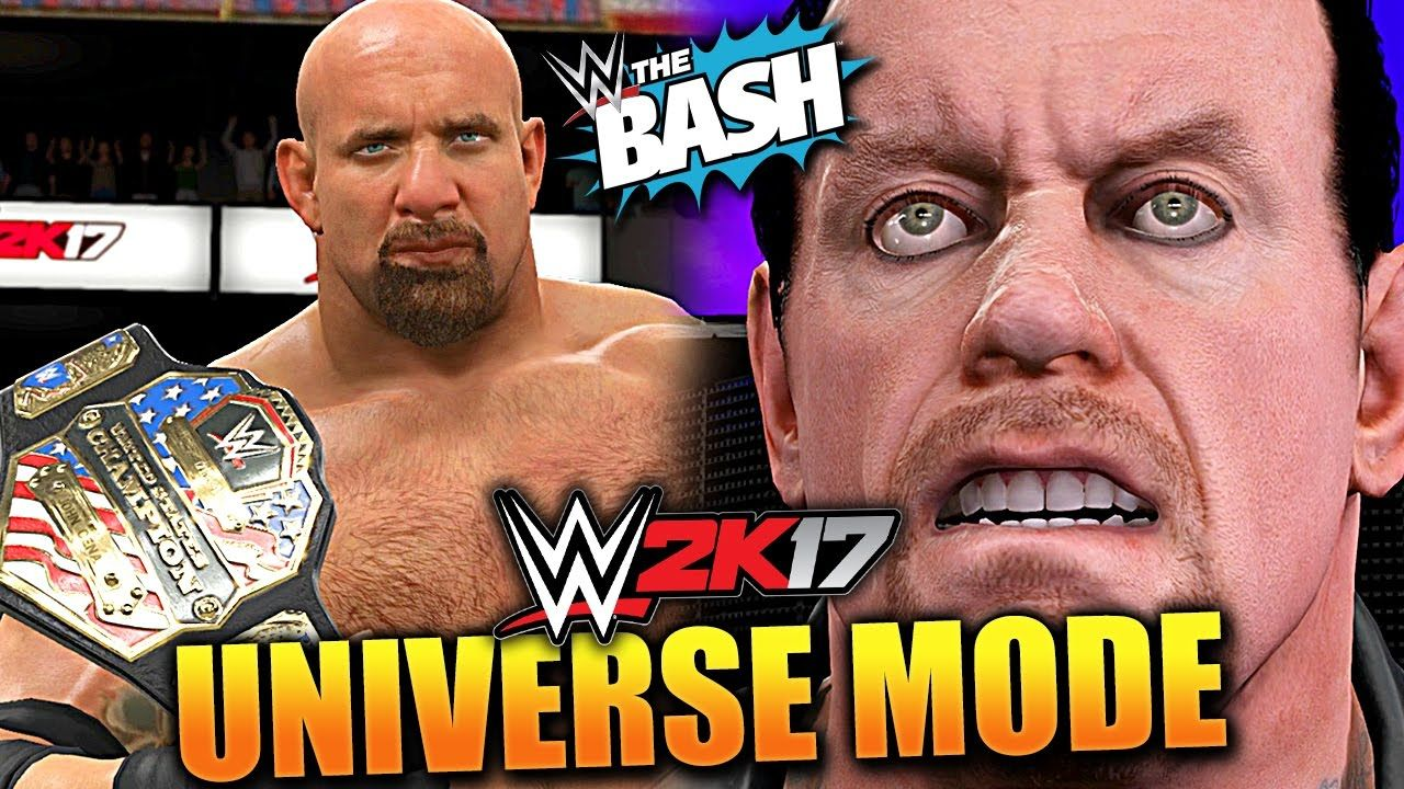 WWE 2K17 UNIVERSE MODE #29 'US TITLE OFF TO SMACKDOWN