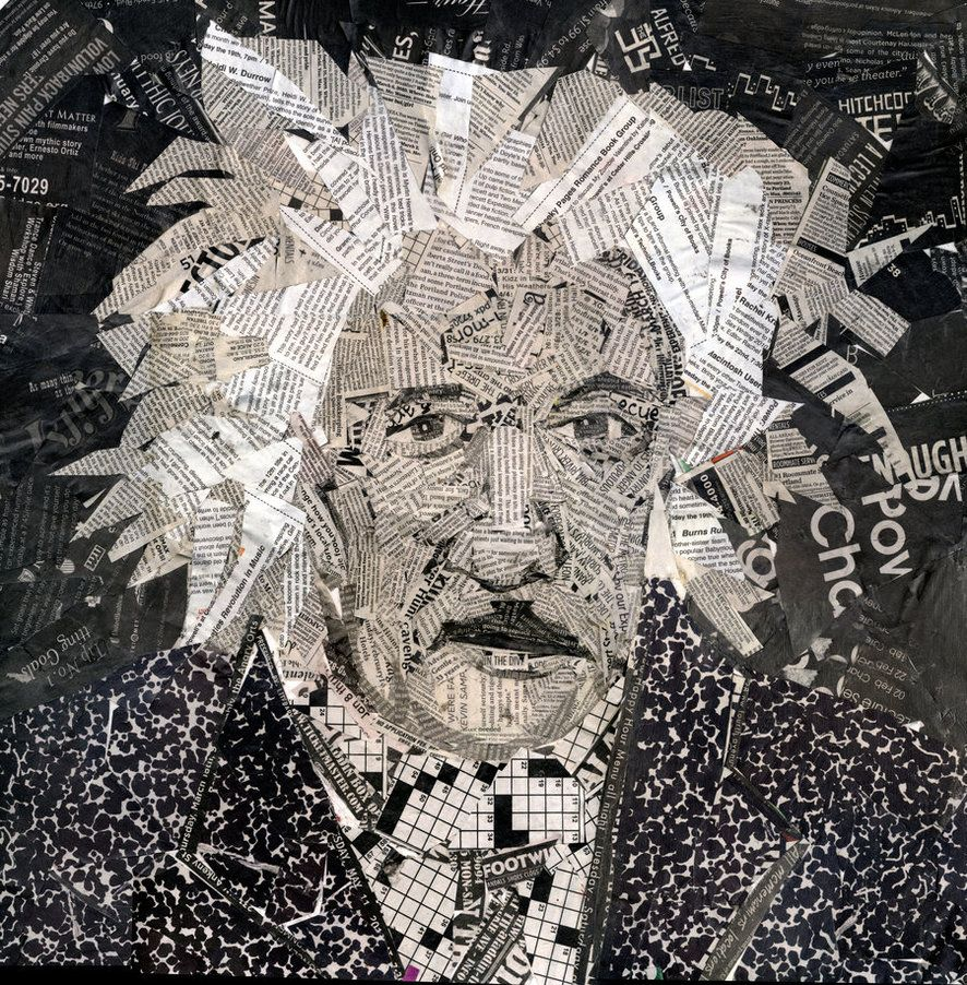 By Hampton Rodriguez I Create Art Mostly From Recycled Materials - 24 amazing celebrity portraits made using unusual materials