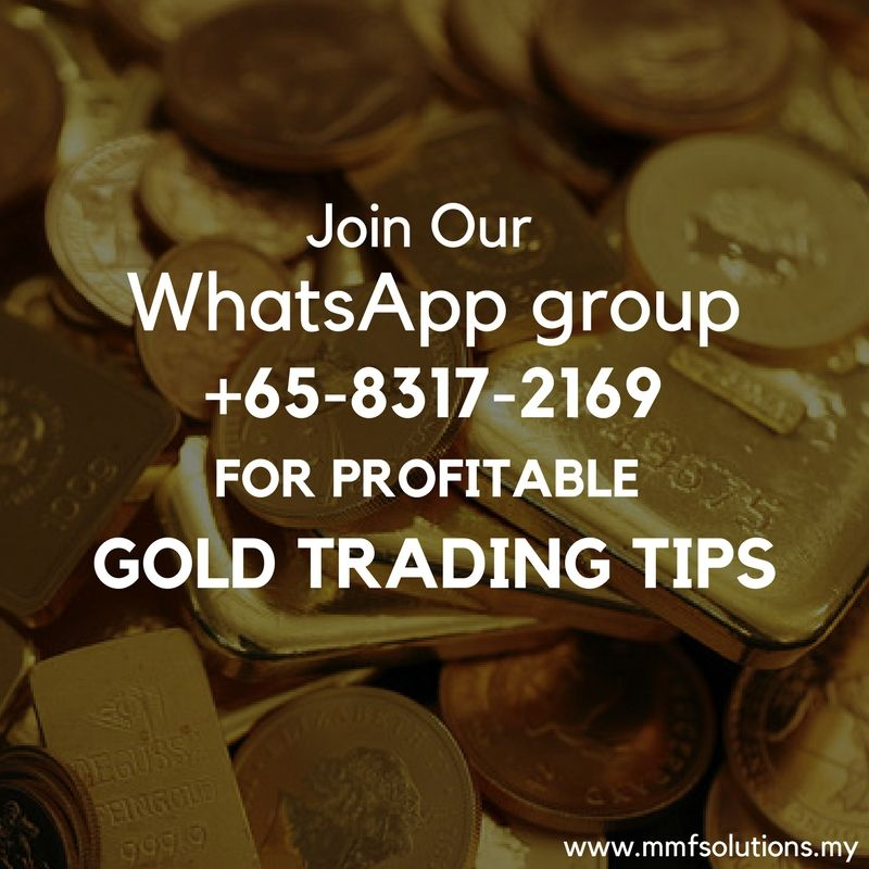 Join Our Whatsapp Group 65 8317 2169 For Profitable Gold Trading