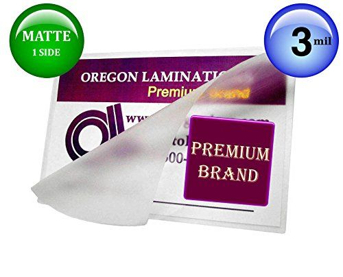 Oregon Lamination Hot Laminating Pouches Legal Pack Of 100 3 Mil 9 X 1412 Mattegloss Read More At The Image Link This Is An Affiliate Glue Crafts