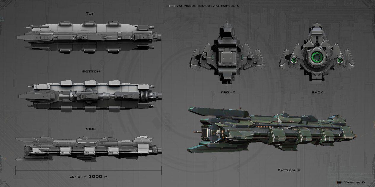 Battleship by VampireDGhost