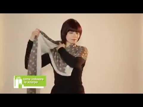 Ways to Wear a Scarf - Modi di indossare una Sciarpa - YouTube