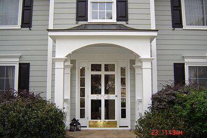 Porch Arch Columns Portico Design House With Porch Front Porch