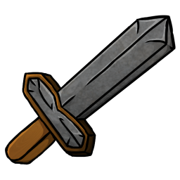 Stone Sword Icon Minecraft Iconset Chrisl21 Stone Sword Icon