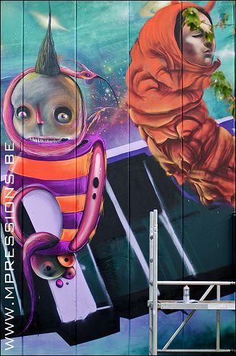 Mural by Marleen Hallaert