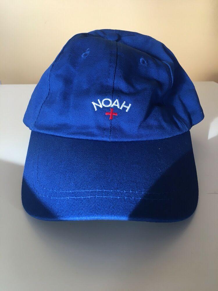 de65dae1b6f Noah NYC Core Logo Cap Classic 6-Panel Hat Blue Cross  fashion  clothing   shoes  accessories  mensaccessories  hats (ebay link)