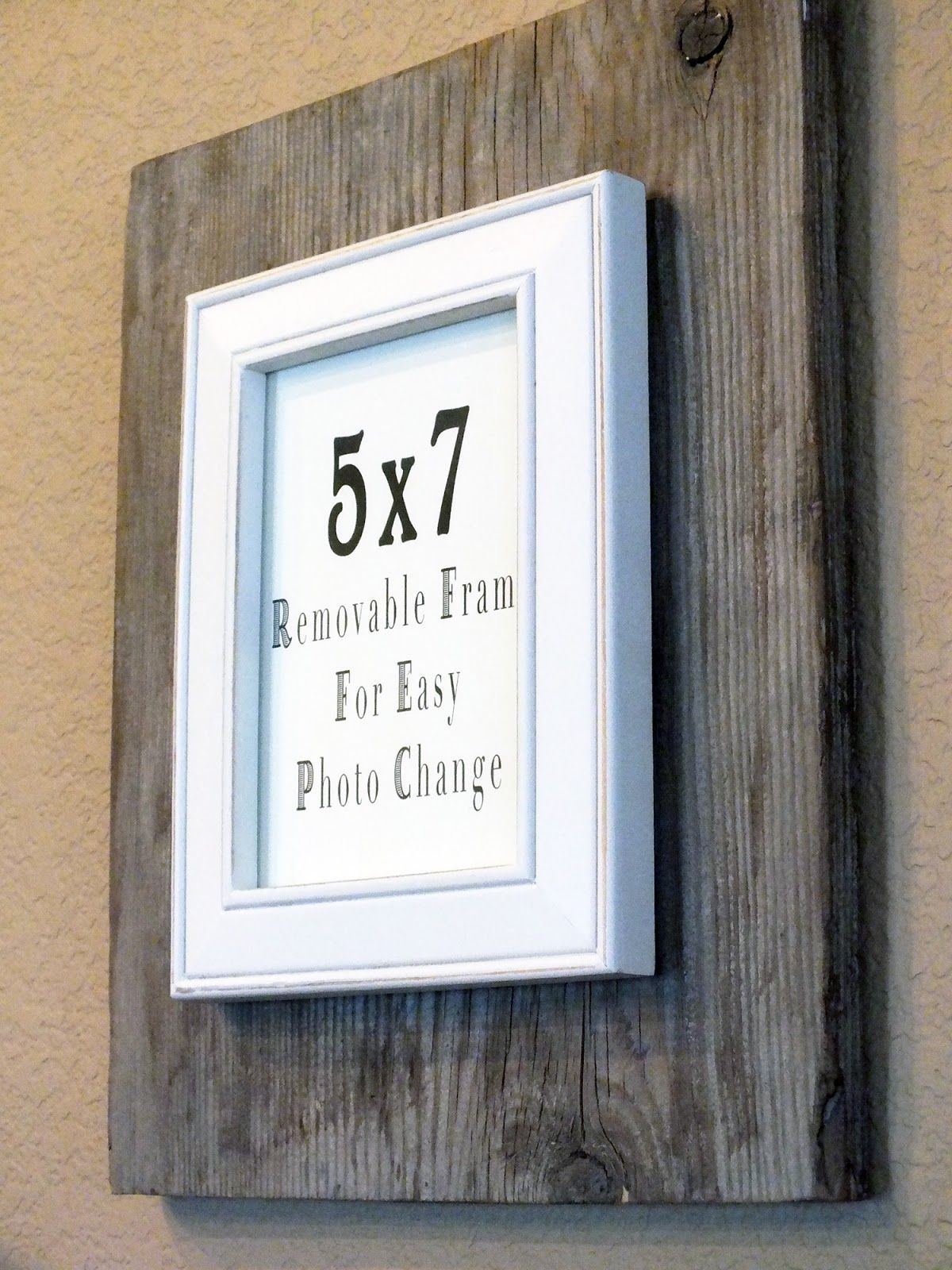 Rustic Chic Picture Frame