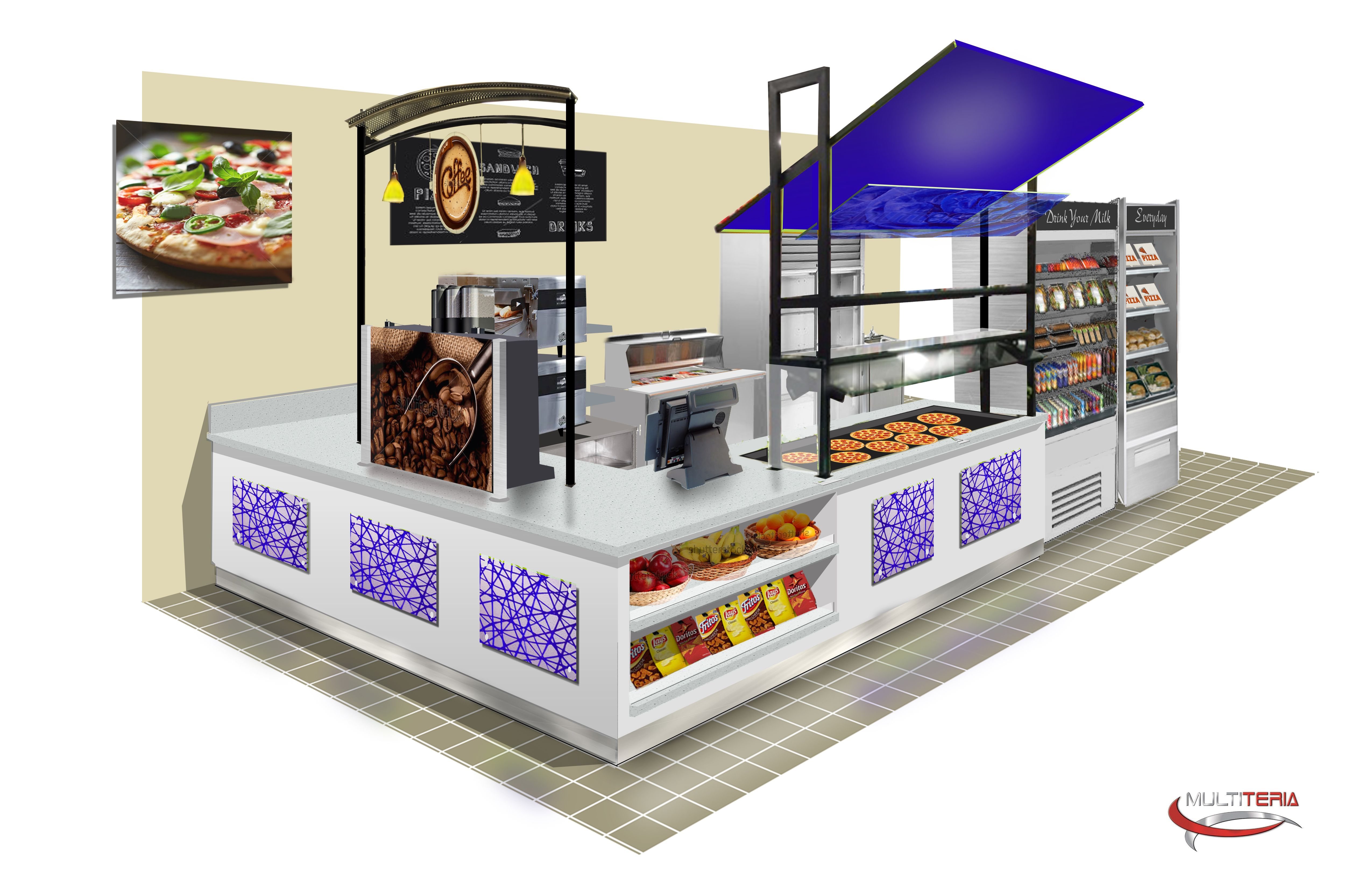 Essence Retail Kiosk Concepts provide modular counters that