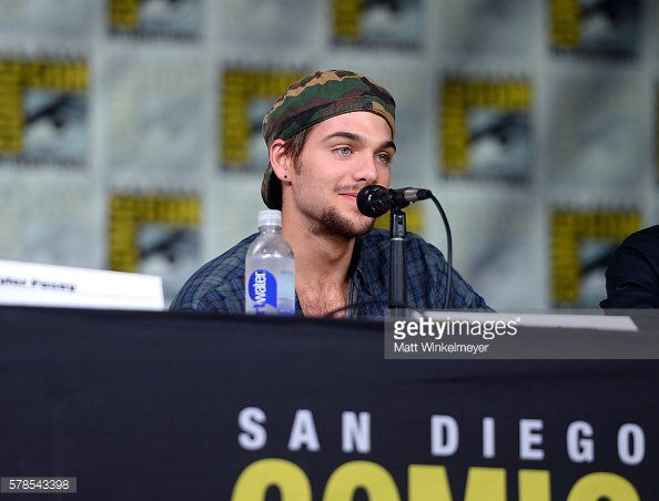 Dylan Sprayberry during the panel of #SDCC (07.21.16)
