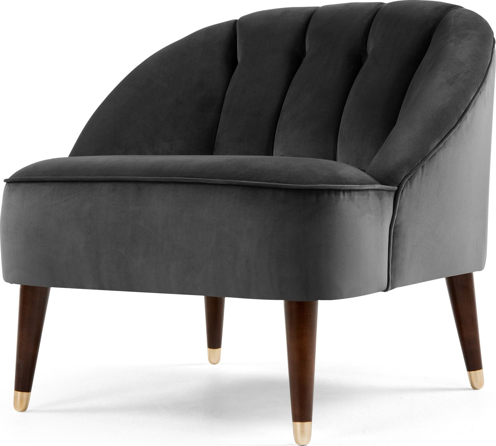 Stupendous Margot Accent Chair Pewter Grey Velvet In 2019 Furniture Caraccident5 Cool Chair Designs And Ideas Caraccident5Info