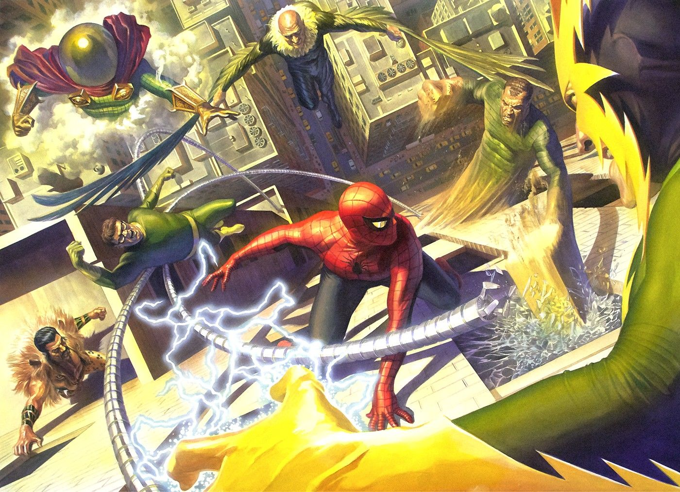 Image result for john romita alex ross spider-man