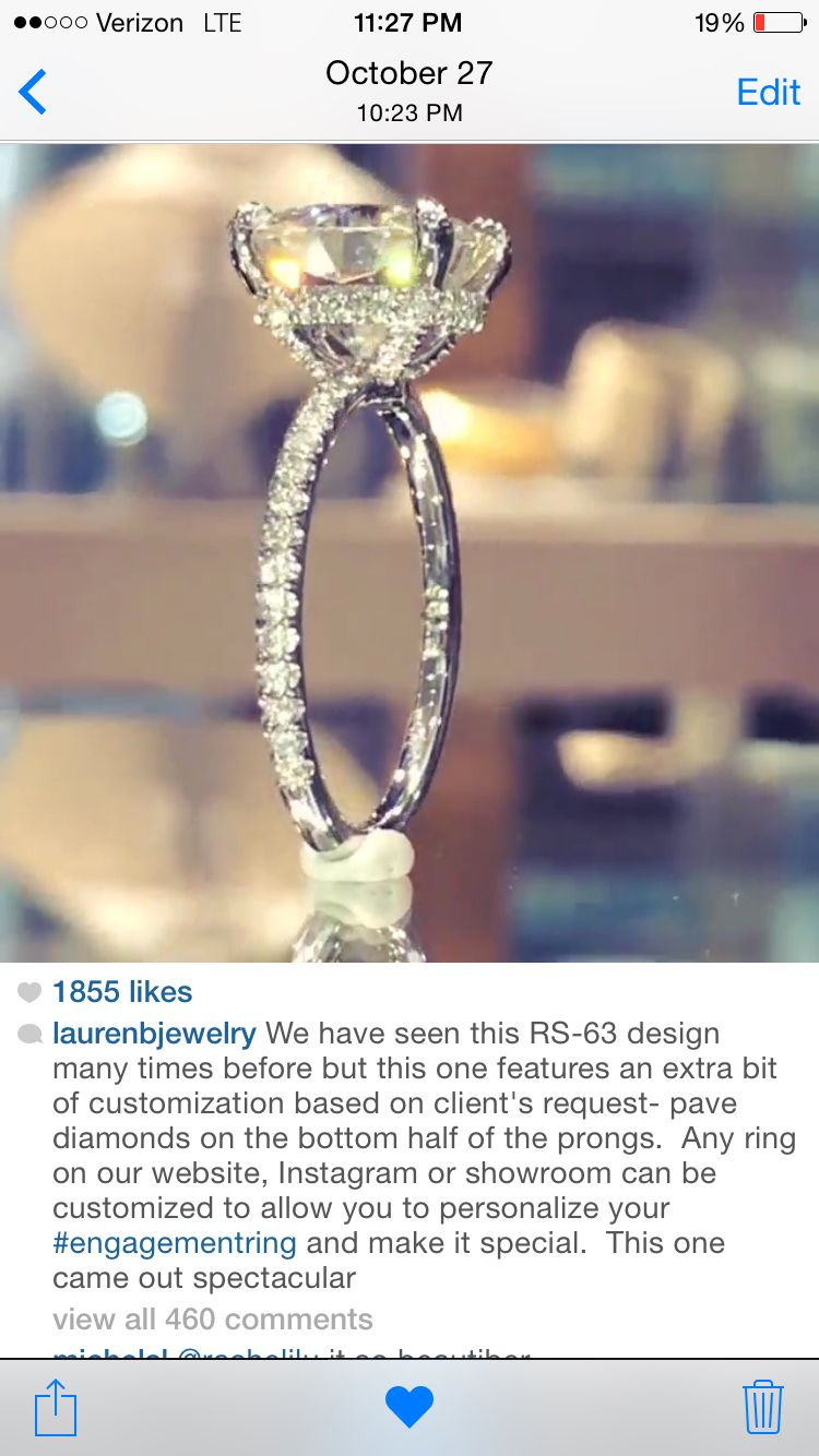 Lauren B Jewelry Its A Sign This Is Exactly The Ring I Want