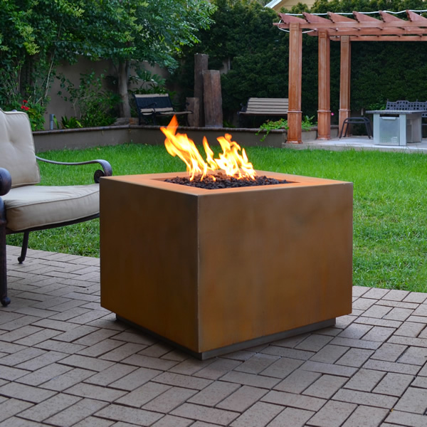 Fortuna Square Fire Pit Lp 36 Fire Pit Gas Firepit Gas Fires