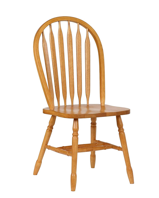 Sunset Trading Arrowback Dining Chair Rta Set Of 2 38 Light Oak