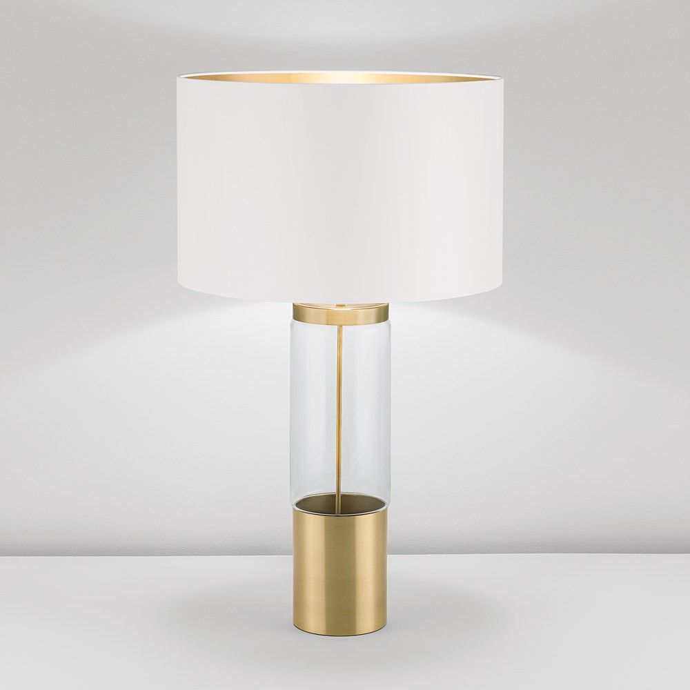 Chelsom Stockholm Table Lamp - Brass SK27 | Brass table lamps ...