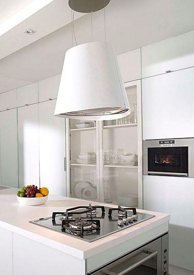 Une atmosphère épurée pour ma cuisine - CôtéMaisonfr Idées pour - Comment Choisir Hotte De Cuisine