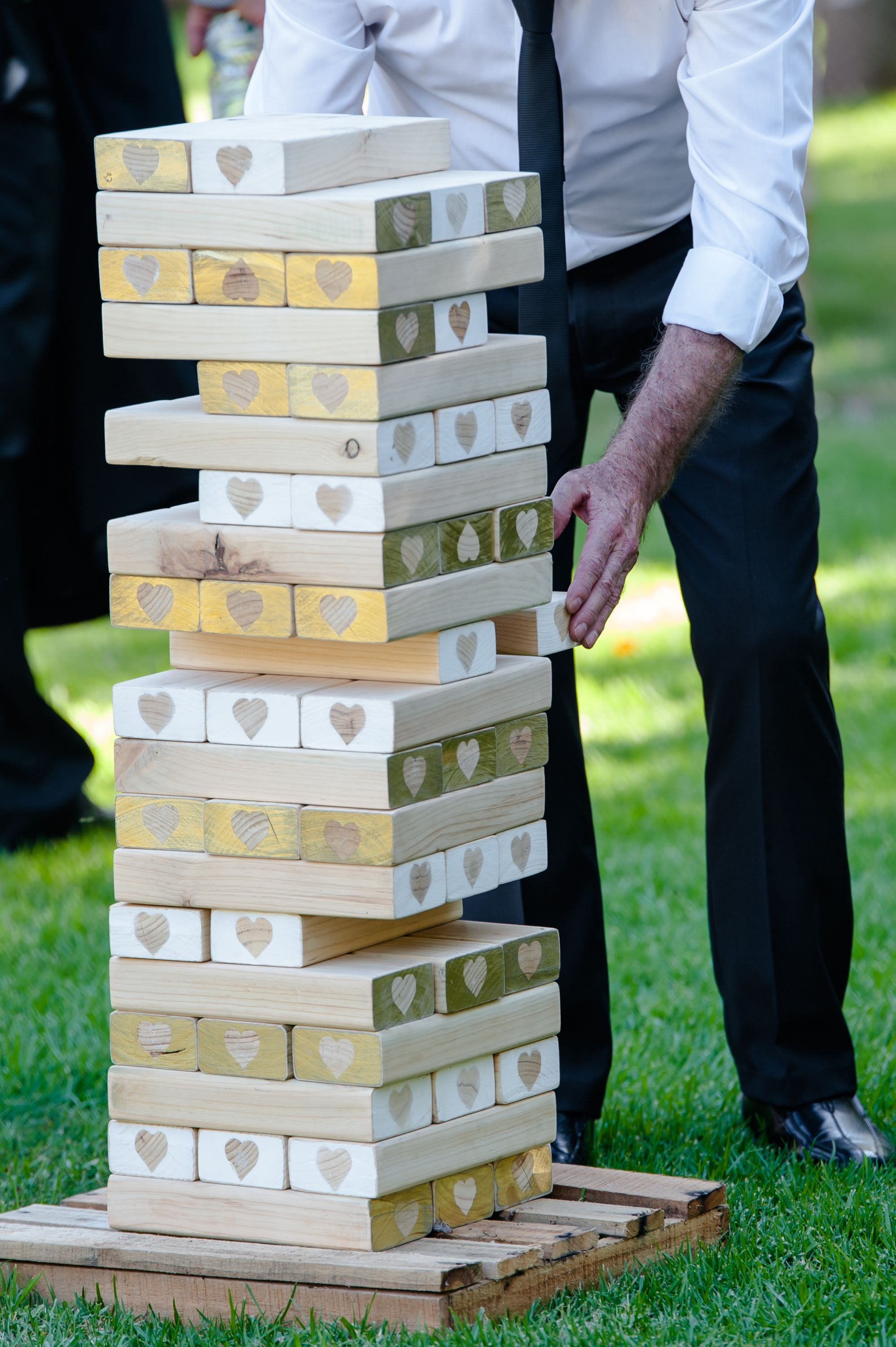 For Hire: Giant Jenga - Hand made and decorated  $30 in