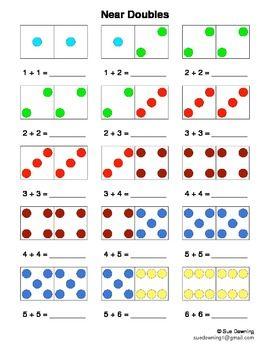 Worksheets Near Doubles Worksheet of near doubles worksheet sharebrowse collection sharebrowse