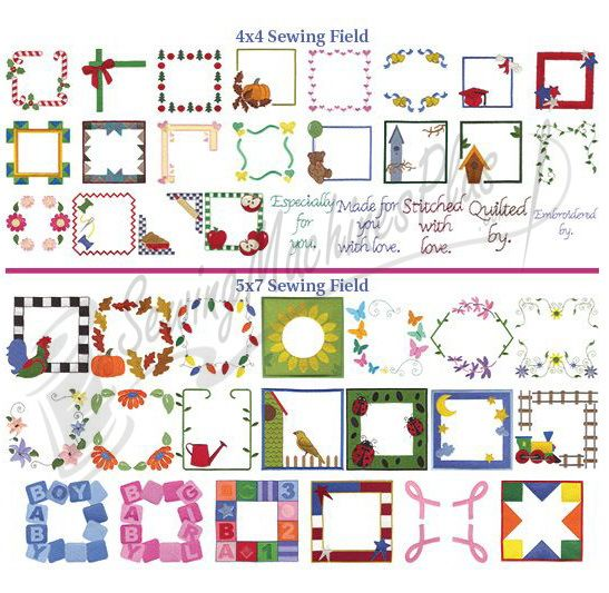 Dakota Collectibles Quilt Labels Embroidery Designs - 970350 ... : free quilt embroidery designs - Adamdwight.com