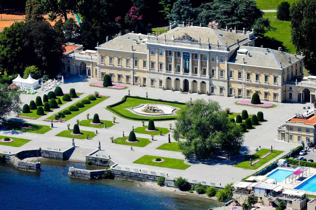 Villa Olmo | Lake como villas, Lake como, Italy vacation