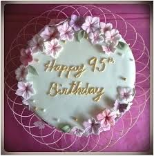 95th Birthday Cake Google Search With Images 95 Birthday