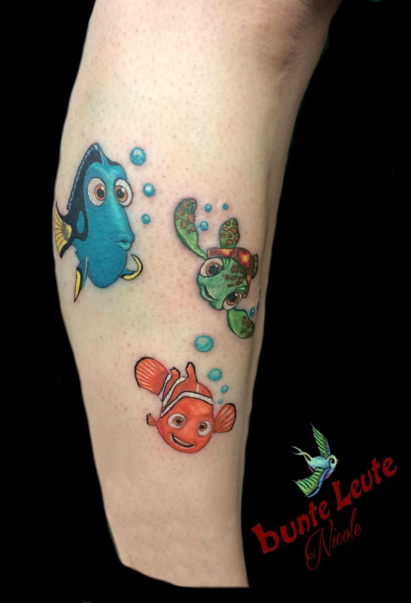 Findet Nemo Dori Tattoo | bunte Leute Tattoo Art | Pinterest | Leute ...