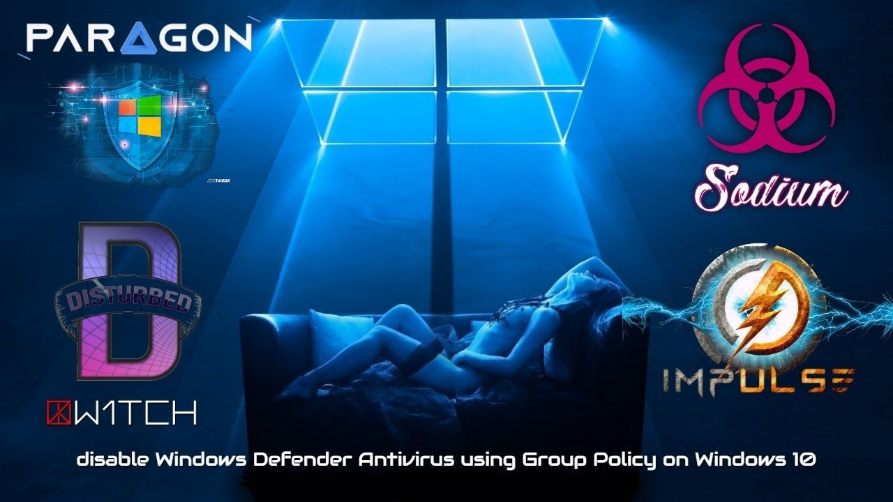 How To Permanently Disable Windows Defender Antivirus Using Group Policy In 2020 Windows Defender Group Policy Defender
