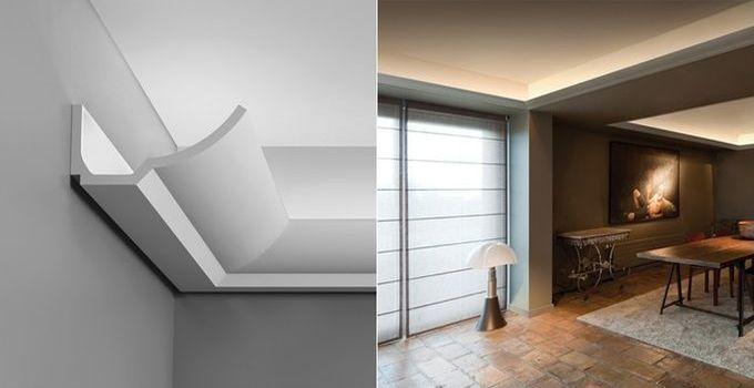Good Indirekte Beleuchtungselemente schaffen in Wohnungen Gesch ften B ror umen und Hotels eine angenehme Atmosph re Mit Lichtleisten setzen wir f r unsere