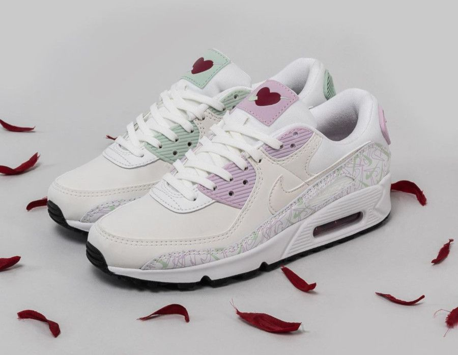 Nike Air Max 90 Valentine's Day Femme Chaussures Baskets