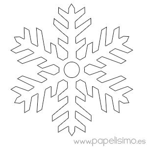 Manualidades f ciles para ni os en navidad copos de nieve - Copos de nieve manualidades ...