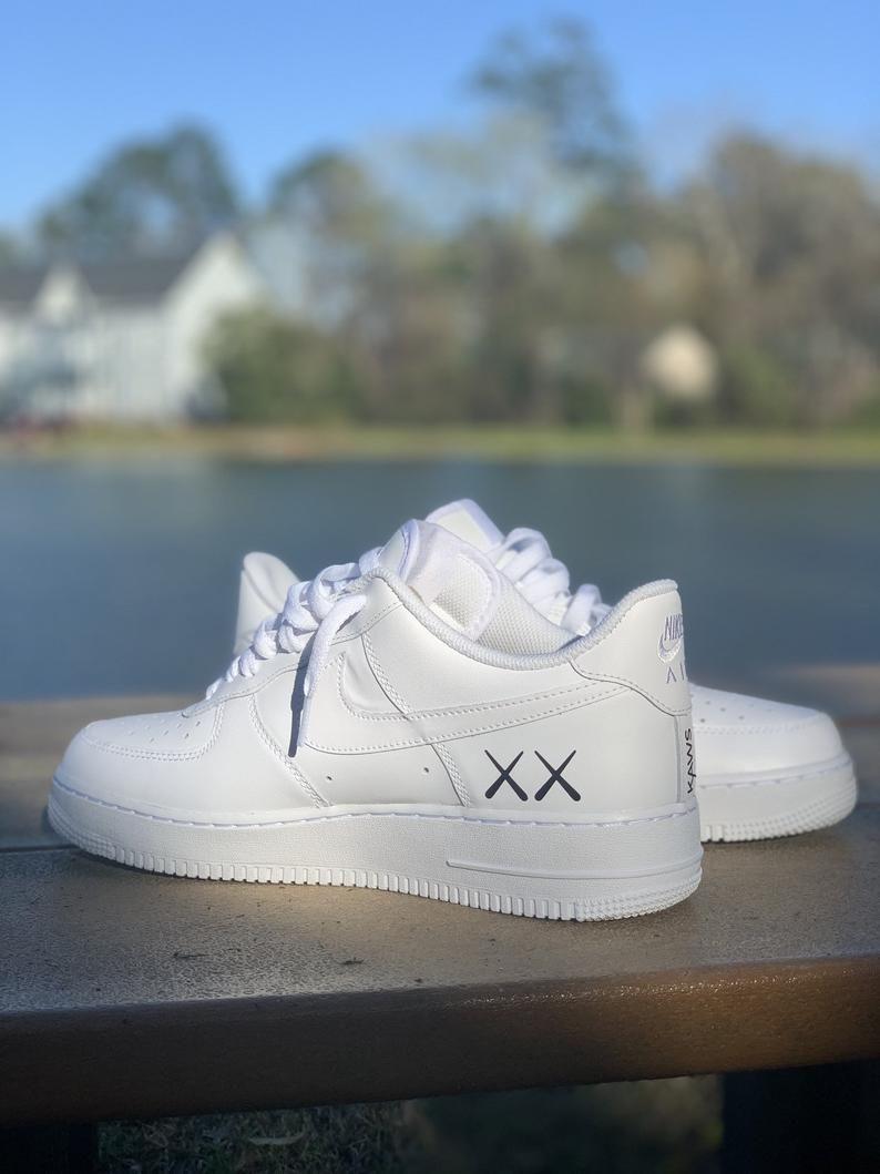 KAWS x Air Force 1 | Etsy | Swag shoes