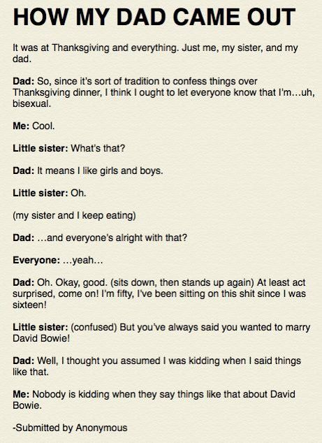 How Dad Came Out Of The Closet Funny Funny Pictures Funny Memes
