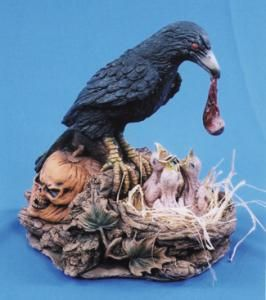 Raven's Nest With Eyeball - Decorations & Props
