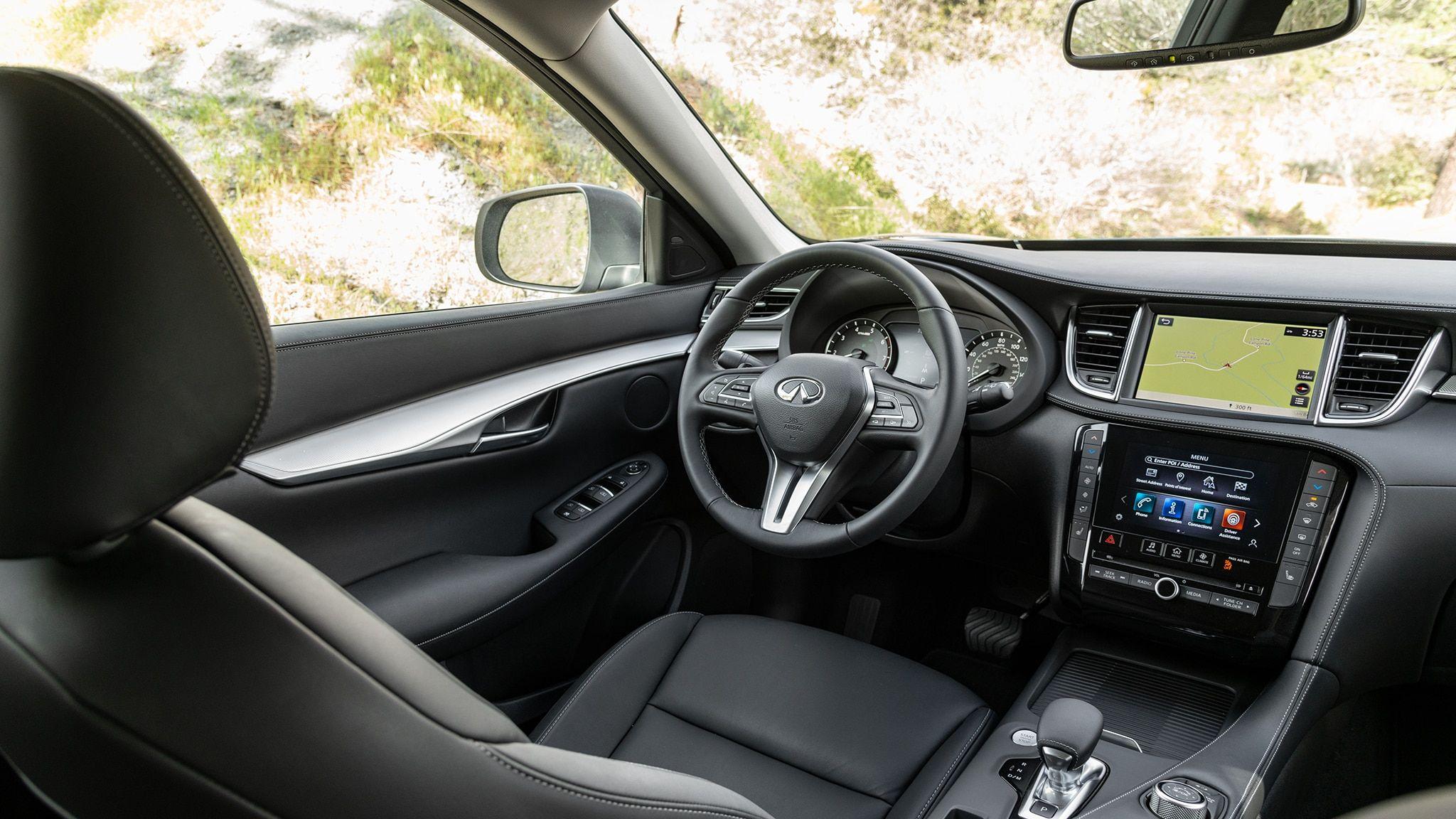 2020 Infiniti Qx50 Luxe Interior Review In 2020 Infiniti Luxe Interiors Infinity Qx