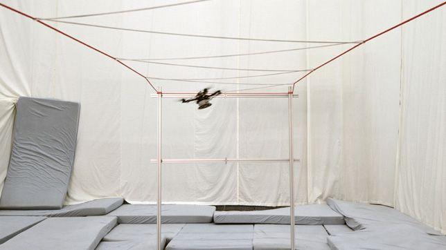 Gramazio Kohler Research - Aerial Structures by Drones at ETH Zürich, Switzerland