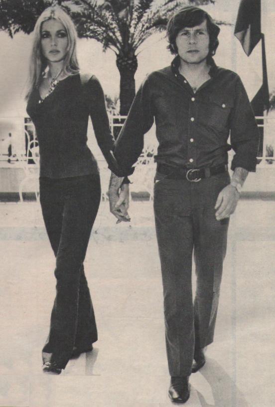 Roman Polanski Et Sharon Tate : roman, polanski, sharon, Roman, Polanski, Sharon, During, Cannes, Festival, 1968., Tate,
