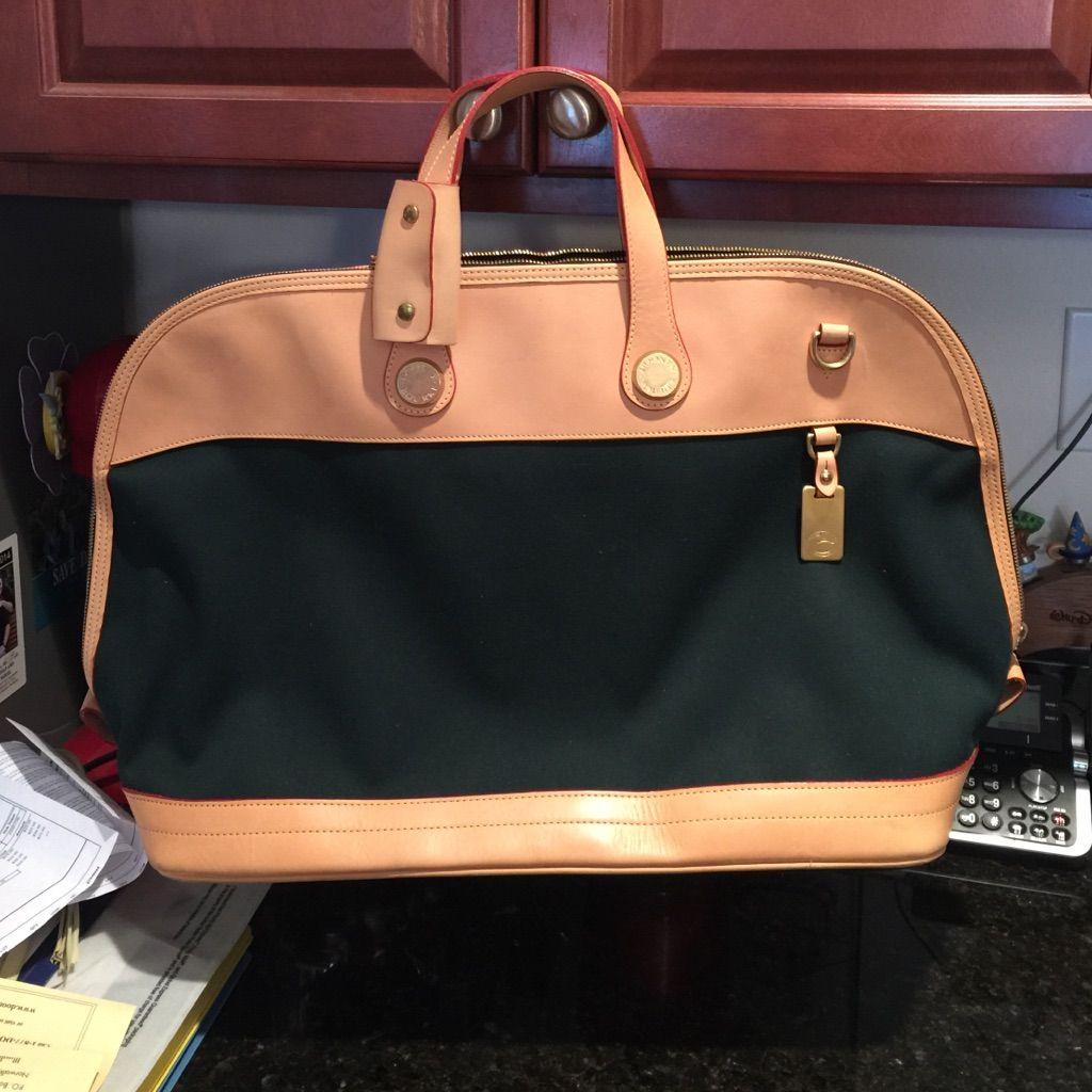 Authentic Dooney Bourke Travel Bag