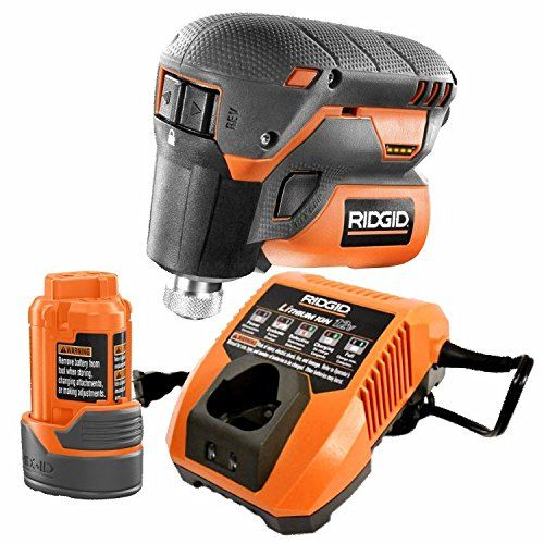 Ridgid R8224k 12 Volt Lithium Ion 1 4 In Cordless Palm Impact Screwdriver Kit With Battery Charger