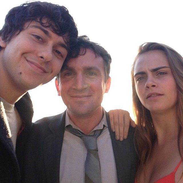 Nat Wolff and Cara Delevingne star in the film adaptation 'Paper Towns' from the author of 'The Fault in Our Stars'.