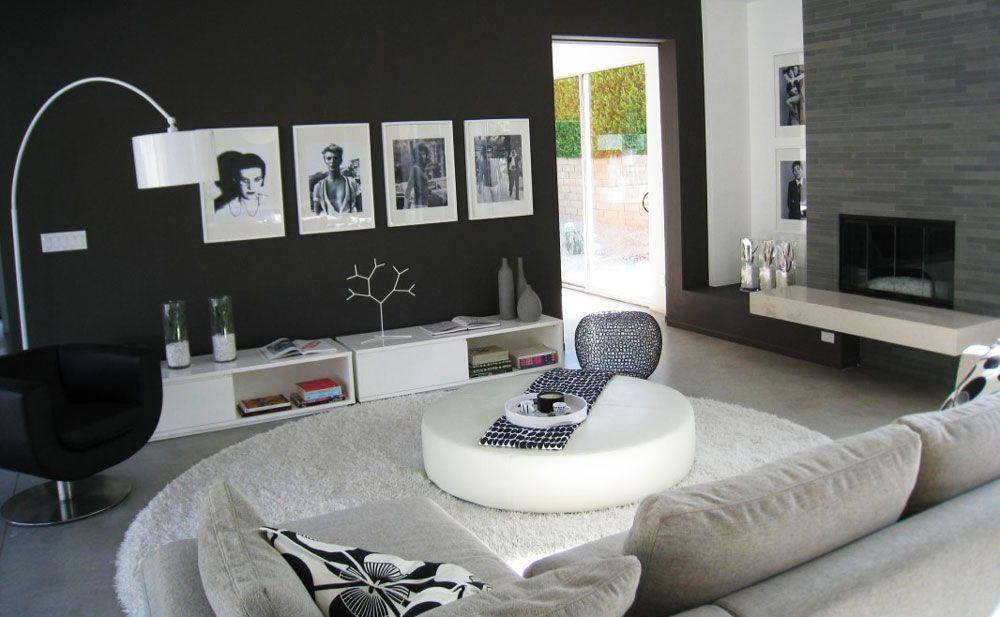 amazing cool and nice black living room design ideas black