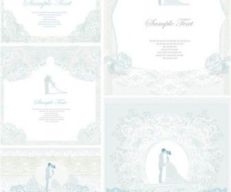 Lace wedding invitations vector scrapbooking pinterest free lace wedding invitations vector free vector graphicslace stopboris Images