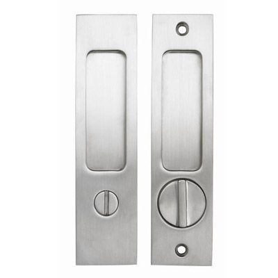 Linnea Pl 160s Square Privacy Door Lock Pocket Door Hardware Pocket Doors Pocket Door Lock