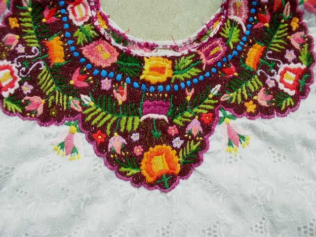 Huipil | Mexican Embroidery | Pinterest