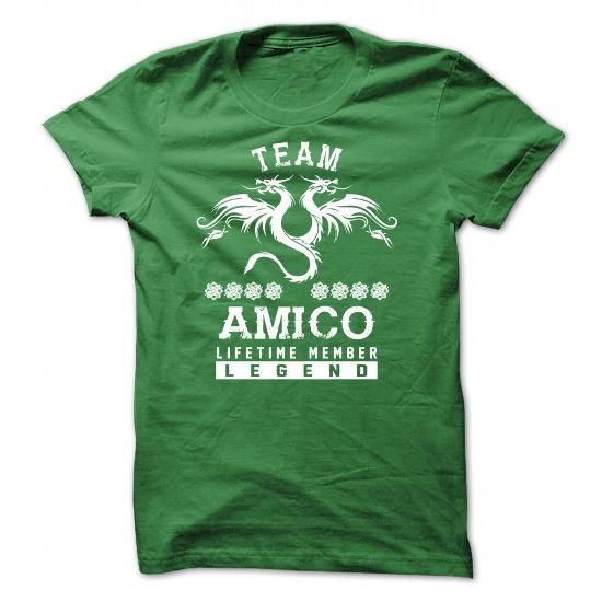 [SPECIAL] AMICO Life time member - #gifts for guys #baby gift. OBTAIN LOWEST PRICE => https://www.sunfrog.com/Names/[SPECIAL]-AMICO-Life-time-member-Green-50029982-Guys.html?68278