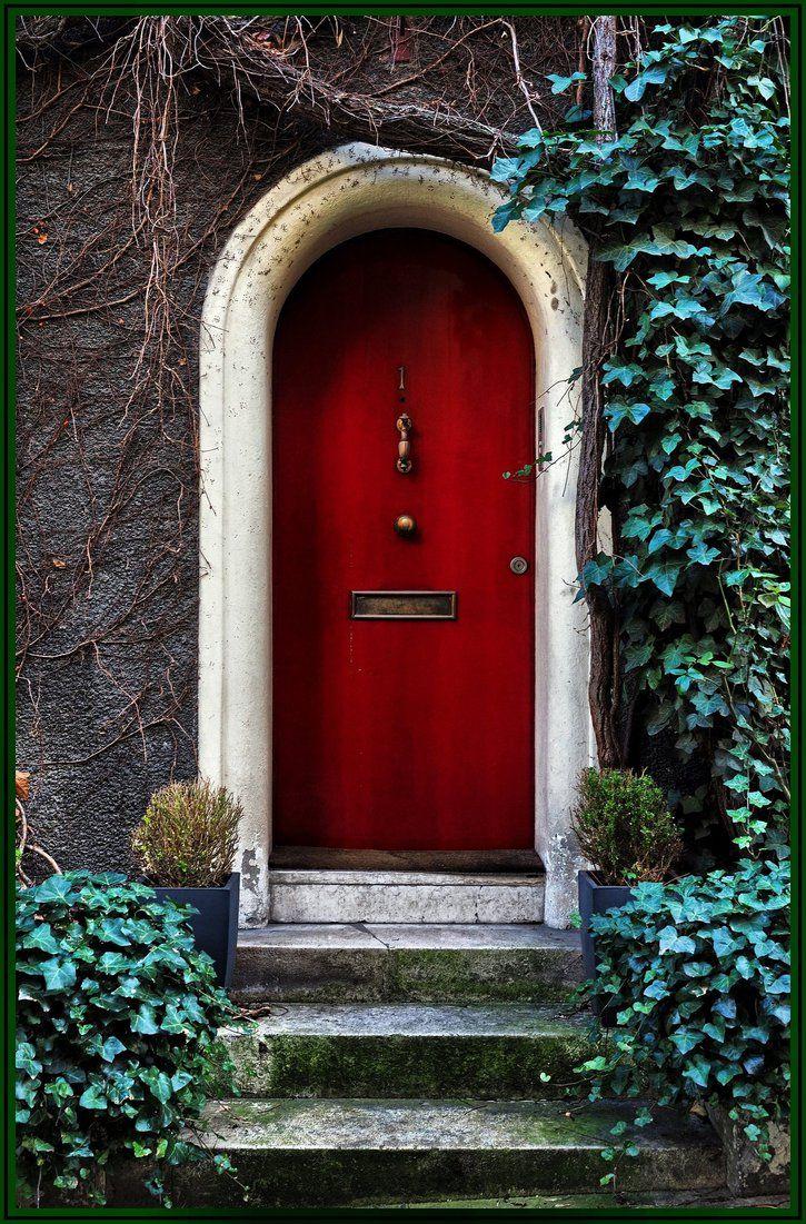 perfect arched door