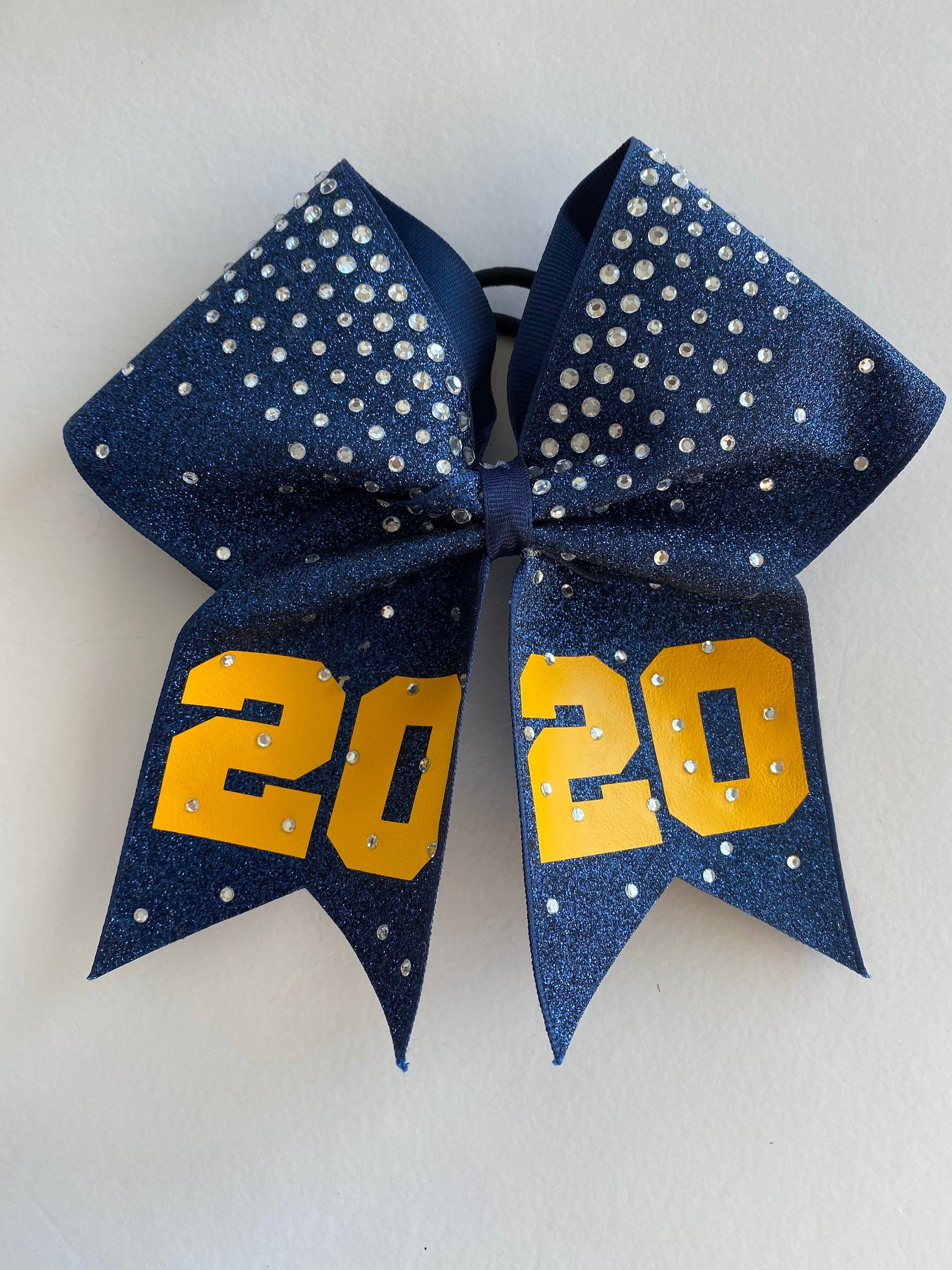 Cheer Price listed is per individual cheer bow Bows Team Bow Game Day Cheer Bow Custom Cheer Bows made in your team colors Cheer Bow