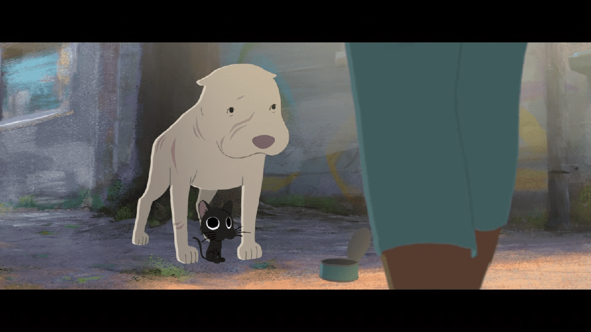 Pixar's New Short Film About A Stray Cat And A Pitbull Is