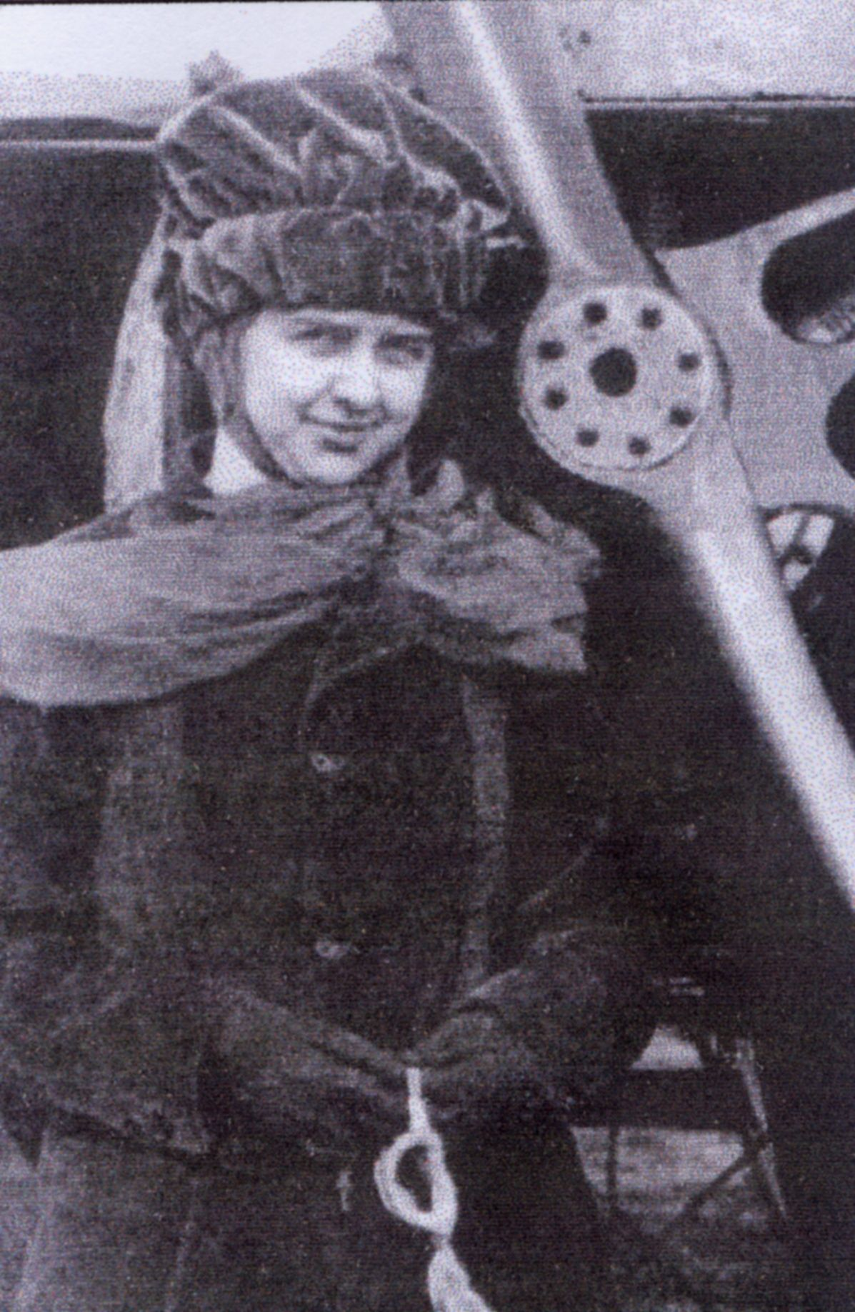 Miller was the third female pilot in the country