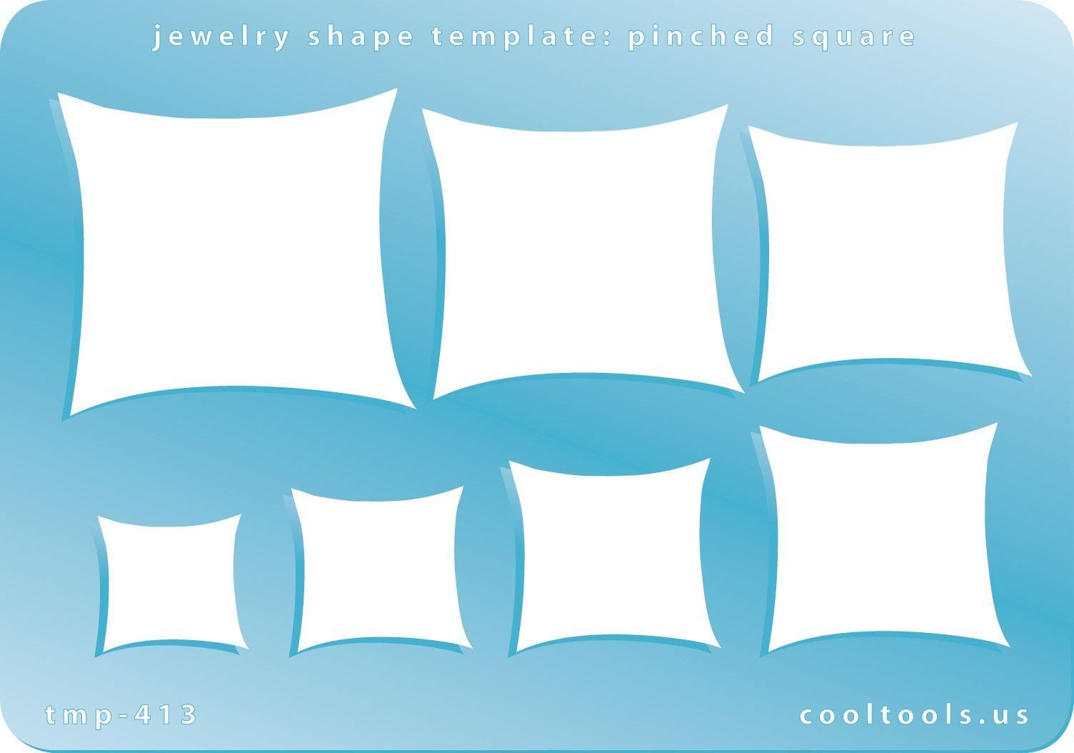 Pinched Squares Shape Template | Template, Shapes and Squares
