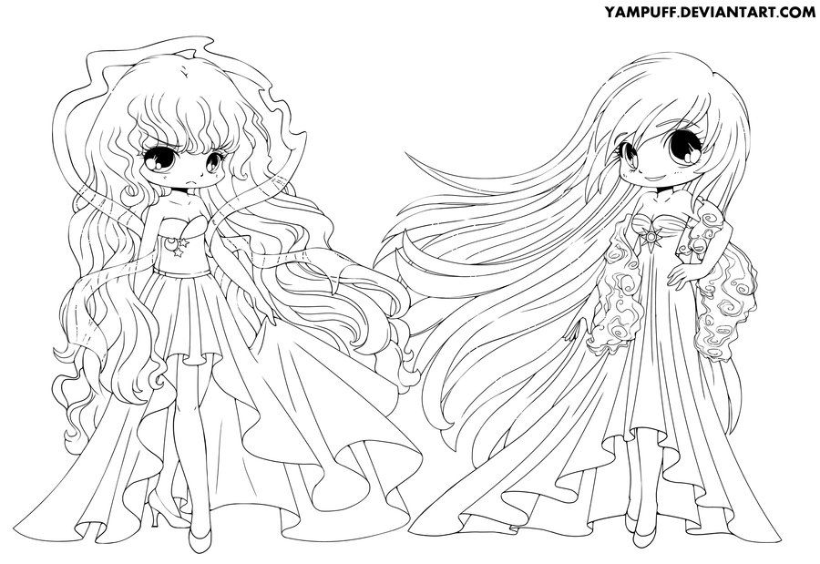 Commish for Commissioner has given me permission so This Lineart is - best of coloring pages anime girl